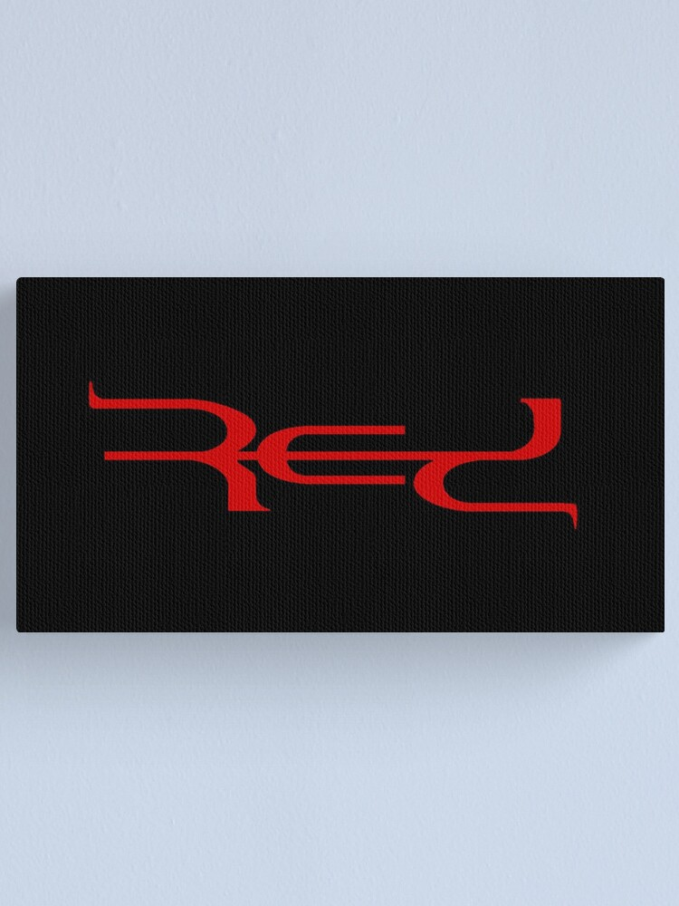 Alternate view of Red Band Logo Canvas Print