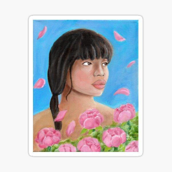 Pink Elegance Sticker