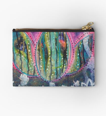 Transformation Into Becoming: Inner Power Painting Studio Pouch