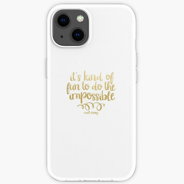 do the impossible iPhone Soft Case