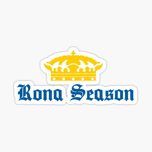 Rona Season Sticker