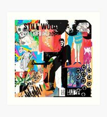 Still Woozy Album Art Art Print