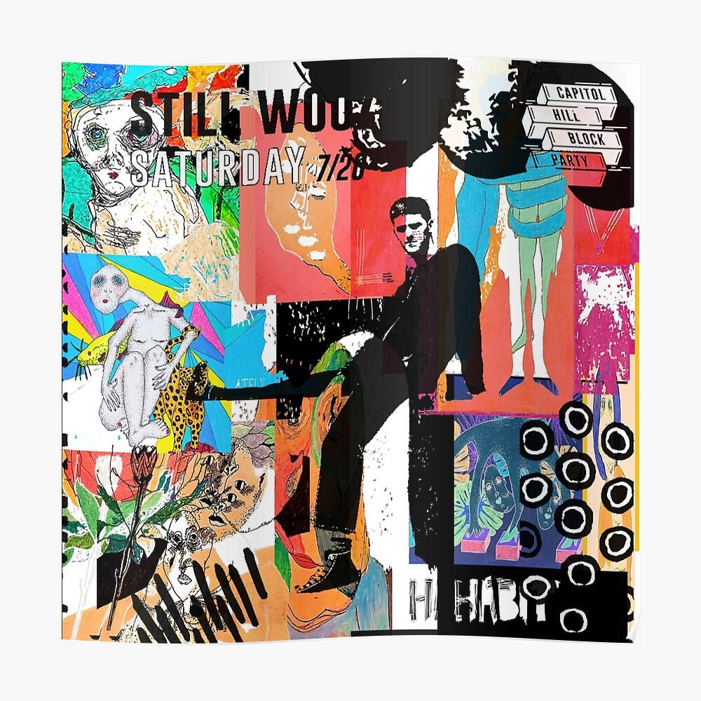 Noch immer wackelige Albumkunst Poster