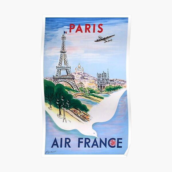 FRANCE VINTAGE TRAVEL POSTER Paris RARE HOT NEW 1