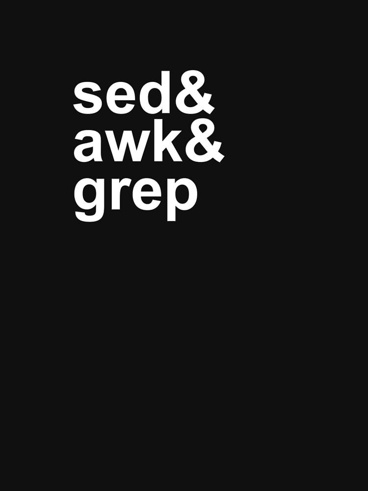 sed grep awk by shortstack