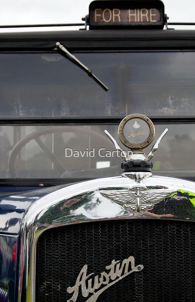 Classic Austin Taxi by David Carton