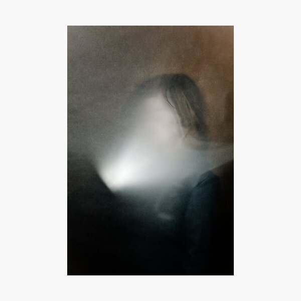 light in face Photographic Print