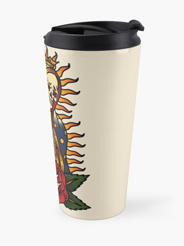 Alternate view of Santa Muerte Travel Mug