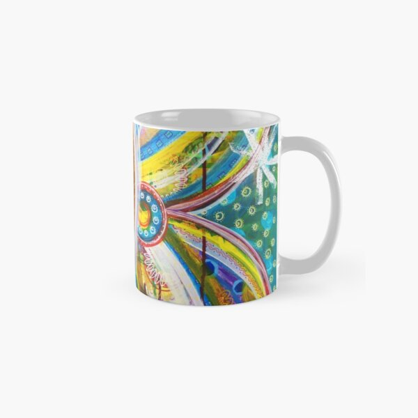 Details of Transformation: Inner Power Painting Classic Mug
