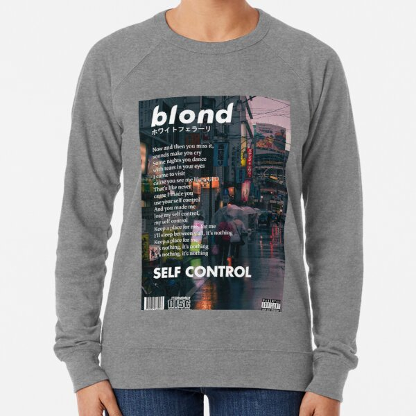 Frank Ocean - Blonde Self Control Lightweight Sweatshirt