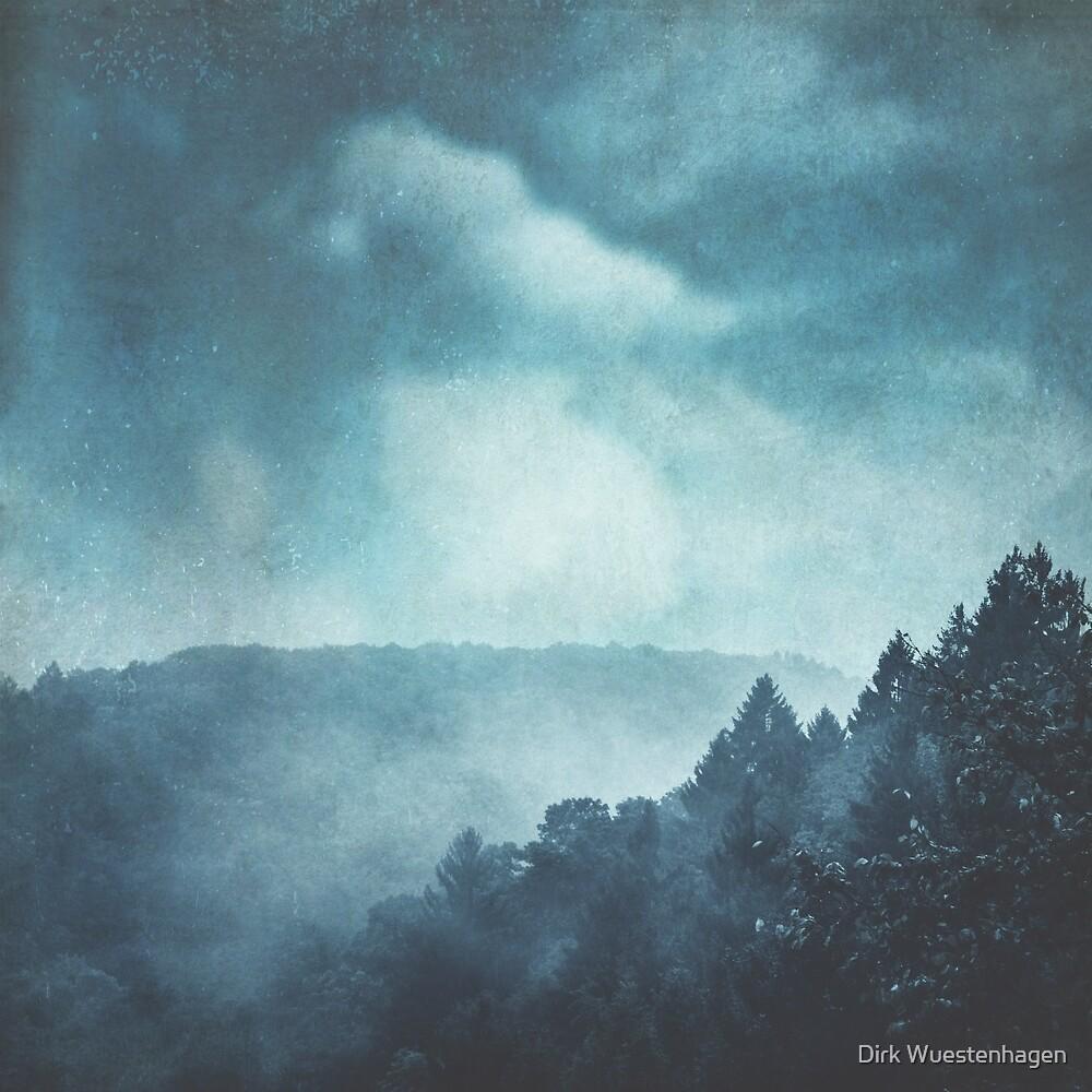 Blue Hills In Mist by Dirk Wuestenhagen