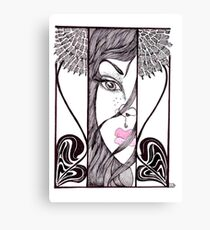 Paper Doll Hope Canvas Print