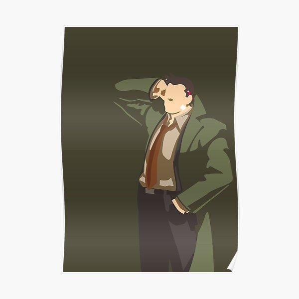 Ace Attorney Detective Gumshoe Poster