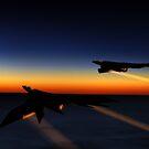Night flight by Kavaeric
