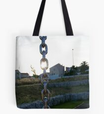 Chainlink Tote Bag