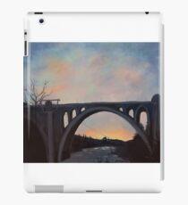 Spokane Bridge Sunset iPad-Hülle & Klebefolie