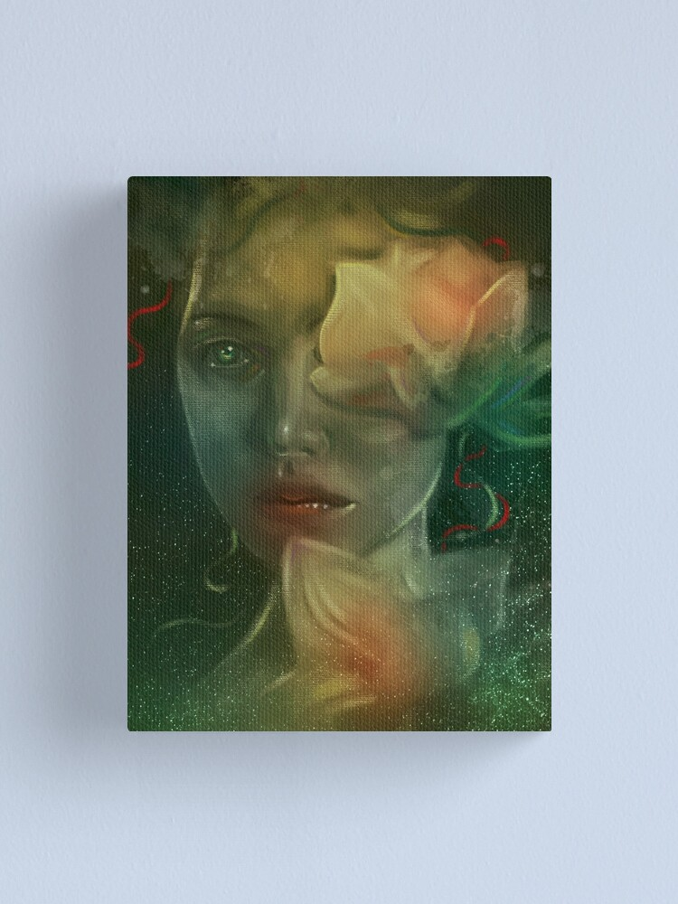 Alternate view of Forest nymph Canvas Print