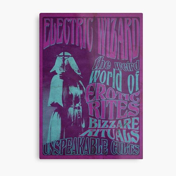 Electric Wizard Poster Doom Metal  Metal Print