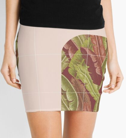 Mid-Century Tropical Style #redbubble #tropical Mini Skirt