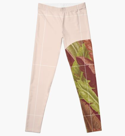 Mid-Century Tropical Style #redbubble #tropical Leggings