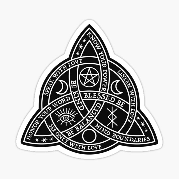 Blessed Be Sticker