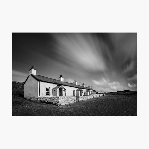 Pilot Cottages Photographic Print