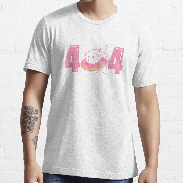 Error 404 QA Engineer, Quality Assurance, Web Developer, Programmer, Software Developer Essential T-Shirt