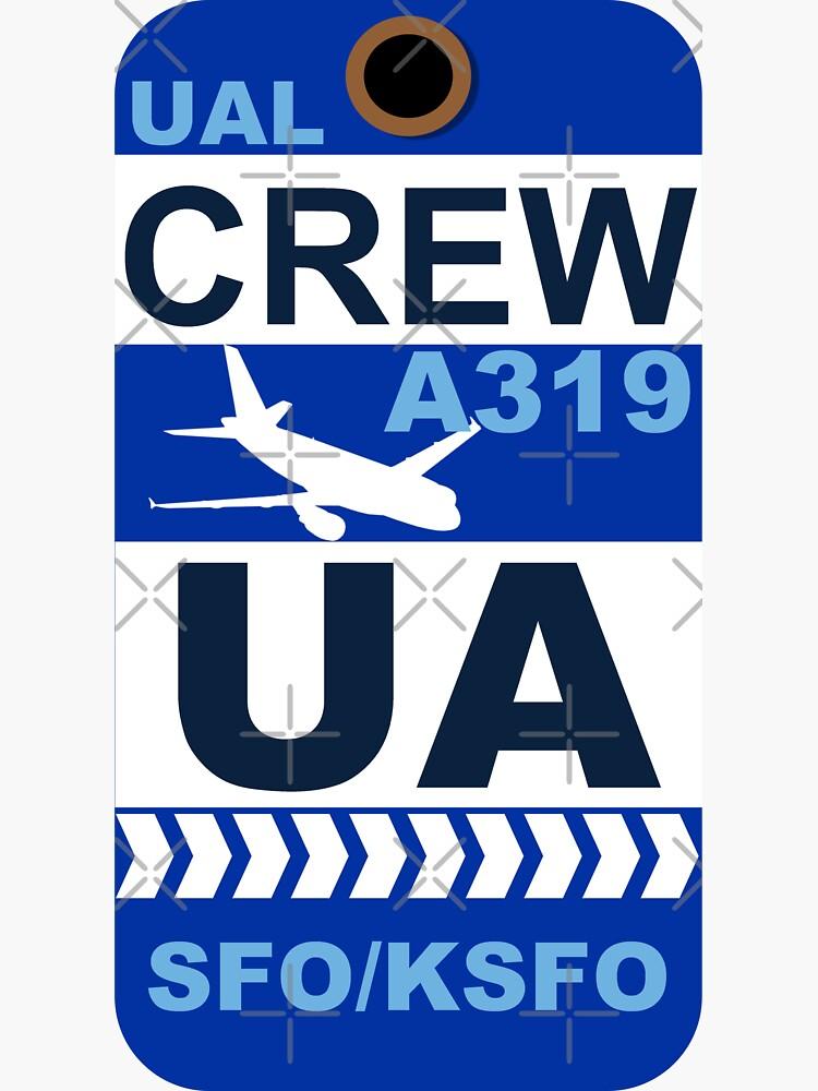 UA Airbus A319 Crew San Francisco SFO by AvGeekCentral