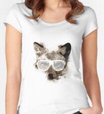 Shutter Fox Women's Fitted Scoop T-Shirt