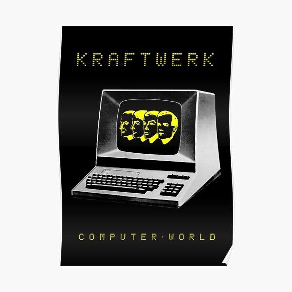 kraftwerk-Computer World-Electronic-Pop-Rock-German Poster