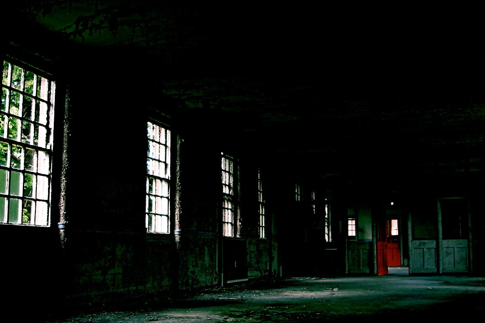 West Park - Red Door by Richard Pitman