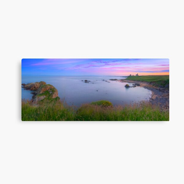 Newark Castle Sunset - St Monans Fife Canvas Print