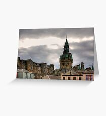 Dunfermline City Chambers Greeting Card