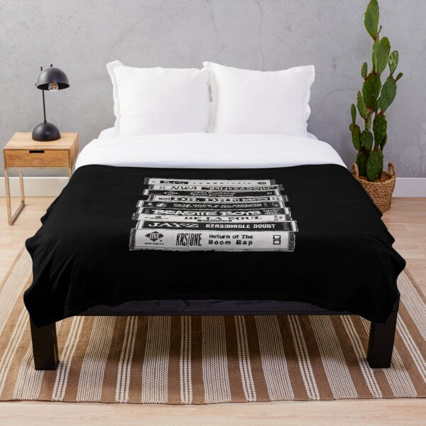 Hip Hop Tapes Throw Blanket