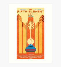 Fifth Element Poster Art Print