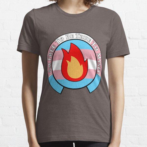 NMCIT - Fire Symbol (Black Outline) Essential T-Shirt