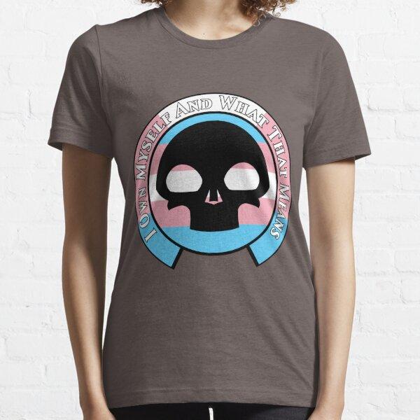 NMCIT - Skull Symbol (Black Outline) Essential T-Shirt