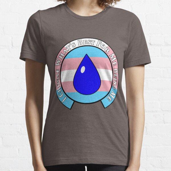 NMCIT - Water Symbol (Black Outline) Essential T-Shirt