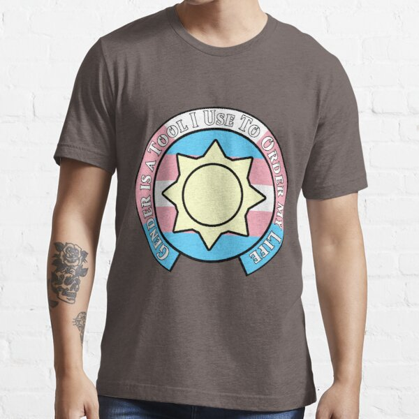 NMCIT - Sun Symbol (Black Outline) Essential T-Shirt