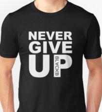 Camiseta ajustada Nunca te rindas BLACKB