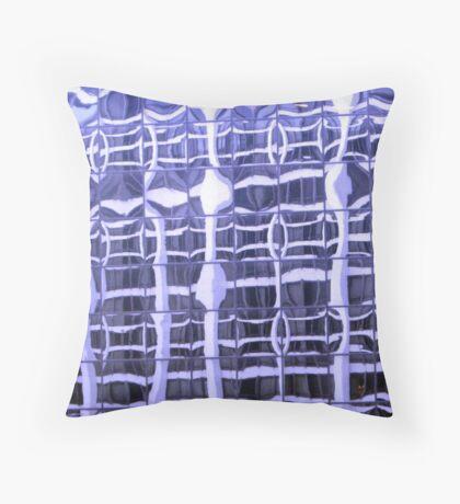 optic nerve Throw Pillow