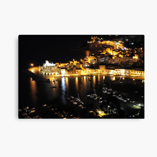 Castellammare by Night Canvas Print
