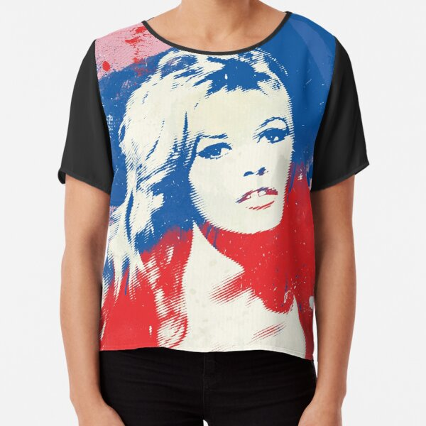 B. B. - Pop Art Fashion Icons Chiffon Top
