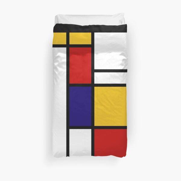 Mondrian Shape Duvet Cover