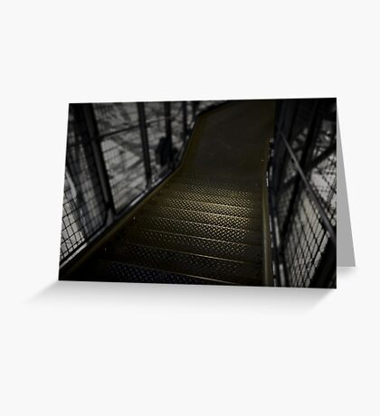 Eiffel tower stairs Greeting Card