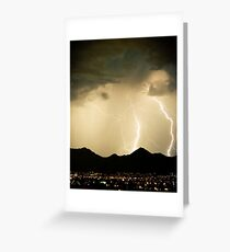 The Midnight Hour Storm Greeting Card