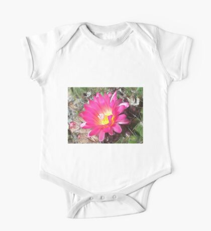 Lovely but Lonely cactus flower Kids Clothes