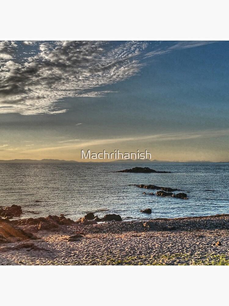 Islay, Gigha, Jura and Cara from Machrihanish by Machrihanish