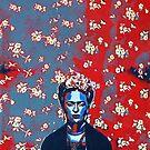 Frida American Portrait by Mikexkish