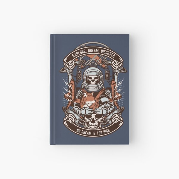 Explore Dream Discover Hardcover Journal